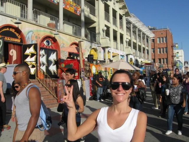 Muvuca em Venice Beach
