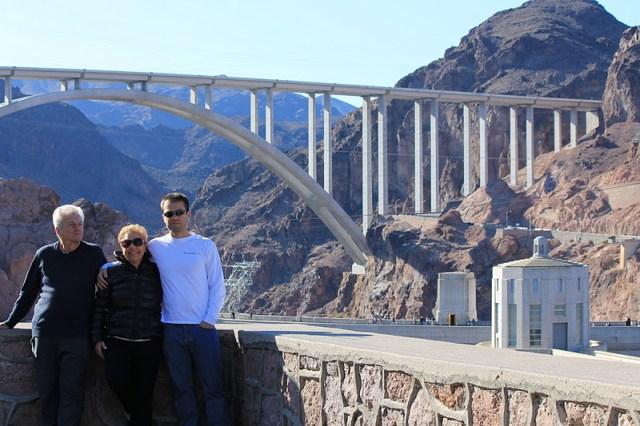 A grandiosa Hoover Dam