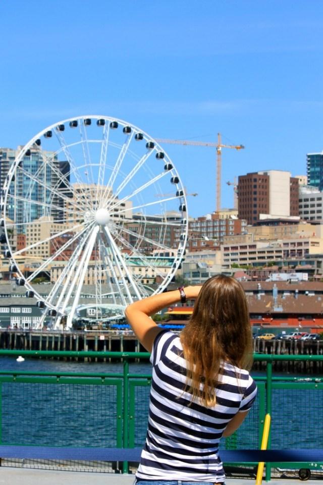 Da ferry a Lia viu a roda-gigante