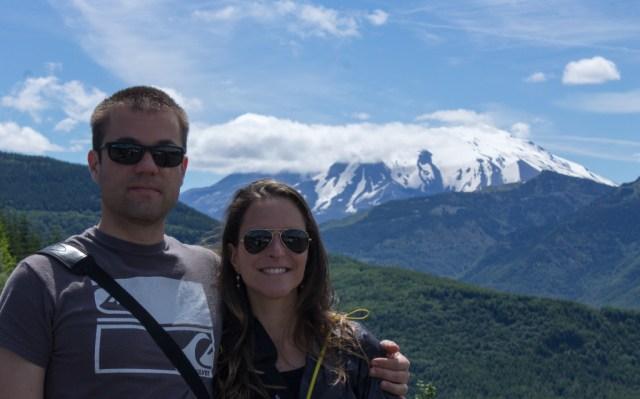Mount Saint Helens - Vista do Forest Learning Center
