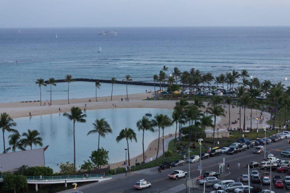 Vista do hotel - The Modern Waikiki