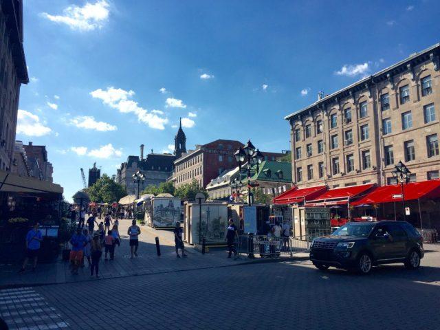 Montreal no verão