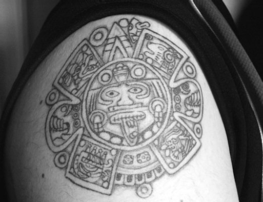 WARVOX :: - :: Tattoo Gallery :: Aztec, Mayan, Inca, PreHispanic Flash