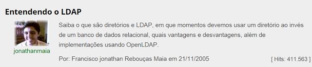 http://www.vivaolinux.com.br/artigo/Entendendo-o-LDAP/