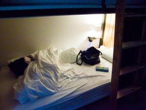 Bed in star hostel