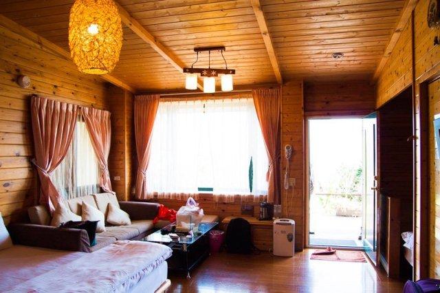 Room at Fon chin minsu, julie's garden homestay, cingjing, taiwan