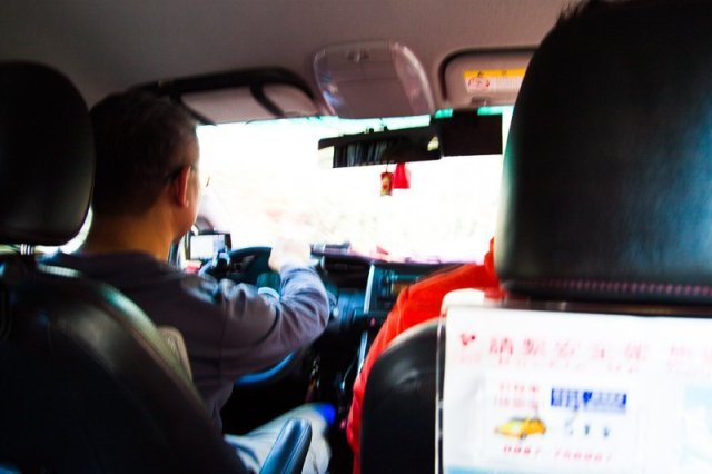 Comfy car booked to travel to Cingjing from Taichung, Taipei