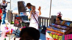 tribe singers at syunguang temple sun moon lake