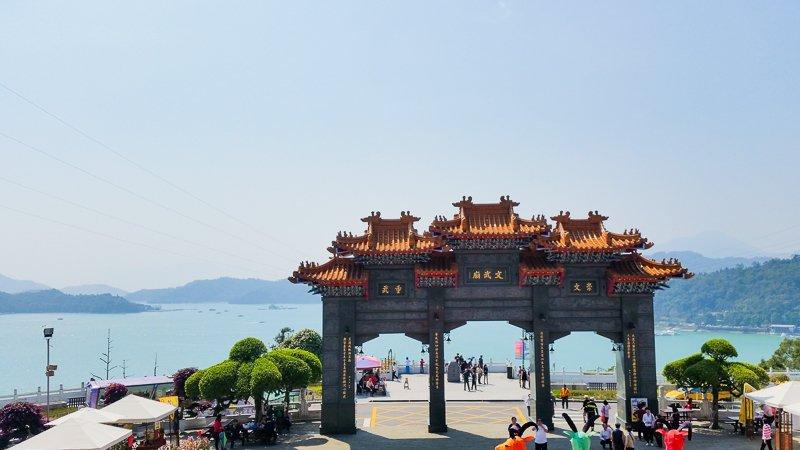 wen wu temple sun moon lake taiwan