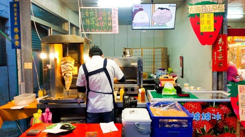 Sha ji ma Burger in Hua Lien Taiwan
