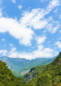 view from shakadang trail hualien taiwan