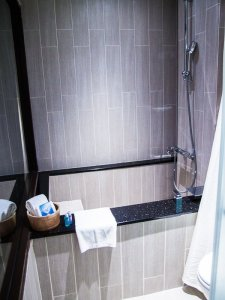 Where to stay in Taipei Via Hotel Ximending Japanese bathtubs
