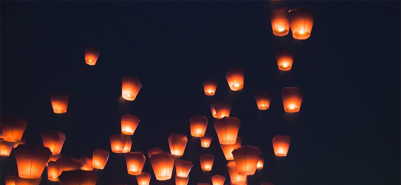 11 days in Taiwan: Pingxi sky lantern festival on day 9