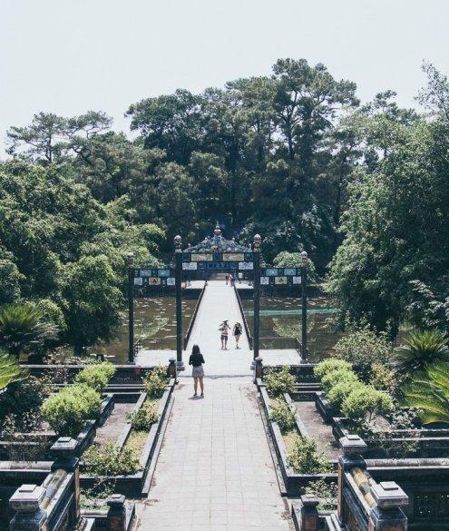 Minh Mang Tomb, Hue Vietnam