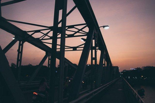 Trang Tien Bridge Hue Vietnam