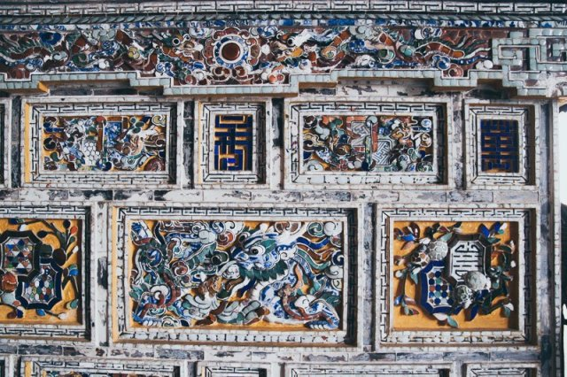 Khai Dinh Tomb Mosaic