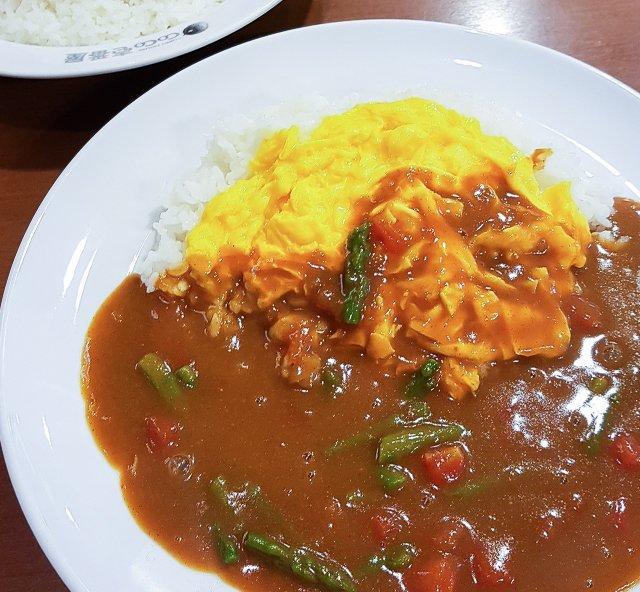 Vegetarian Japanese Curry Rice Coco Ichibanya Tokyo Japan | Vegetarian Restaurants Tokyo