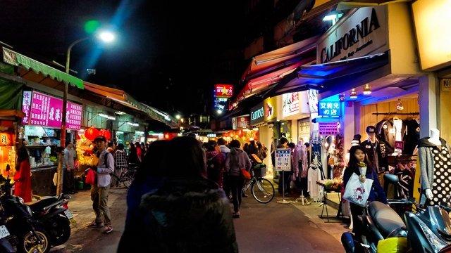 shida night market taipei taiwan