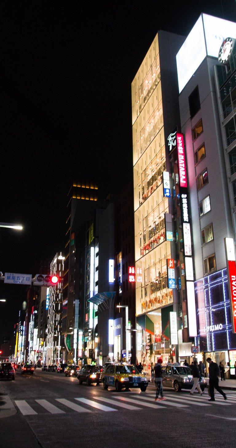 10-day japan itinerary ginza shopping tokyo