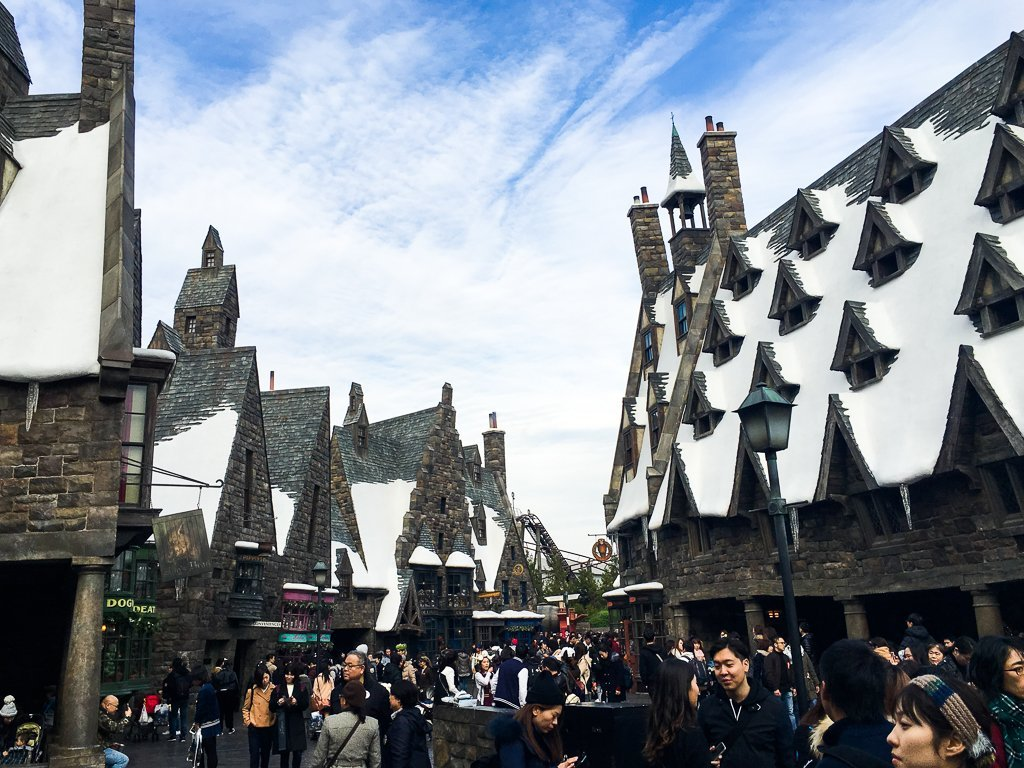 japan 10 day itinerary osaka usj harry potter