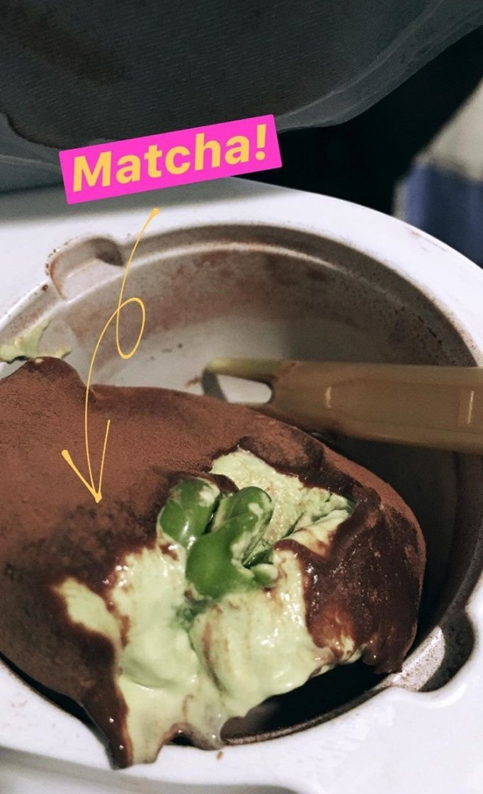 lotte meiji matcha ice cream review