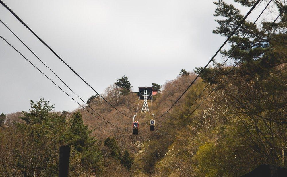 Kachi Kachi Ropeway, Lake Kawaguchiko, Japan