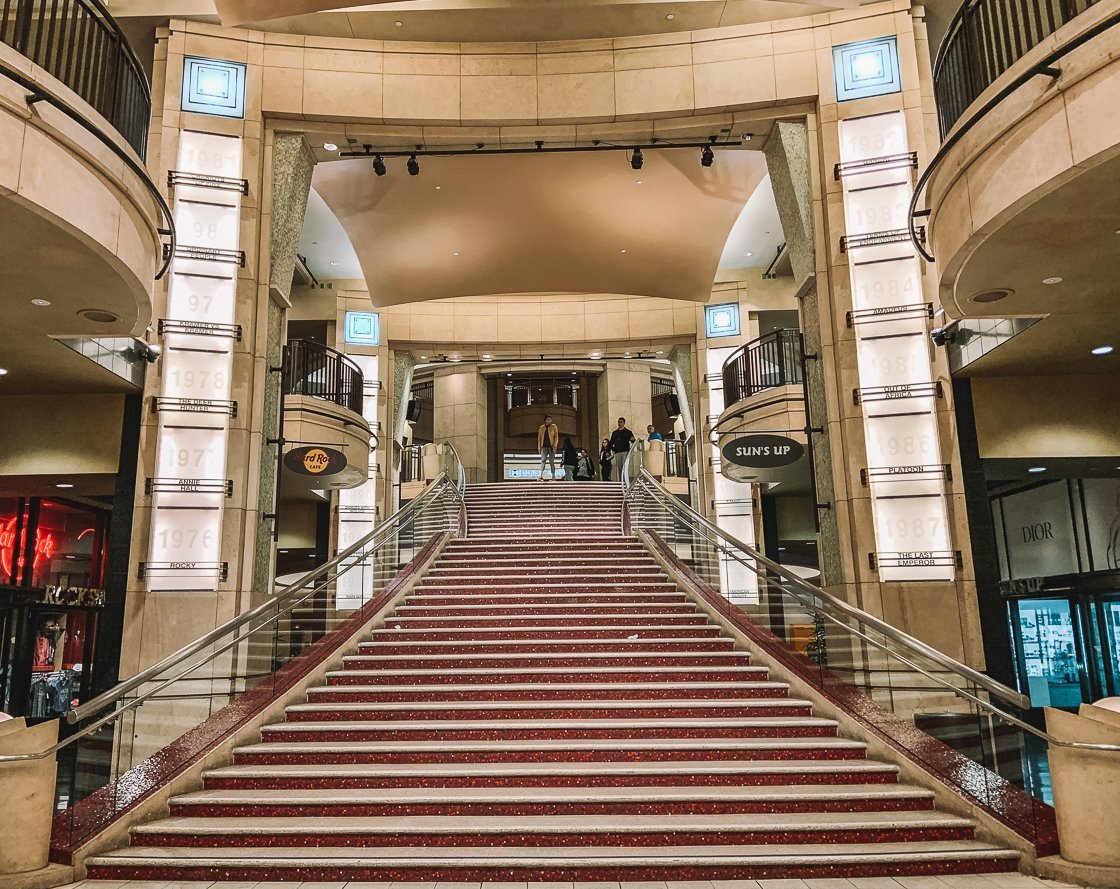 Dolby Theater, Oscars, LA, 2-week US itinerary