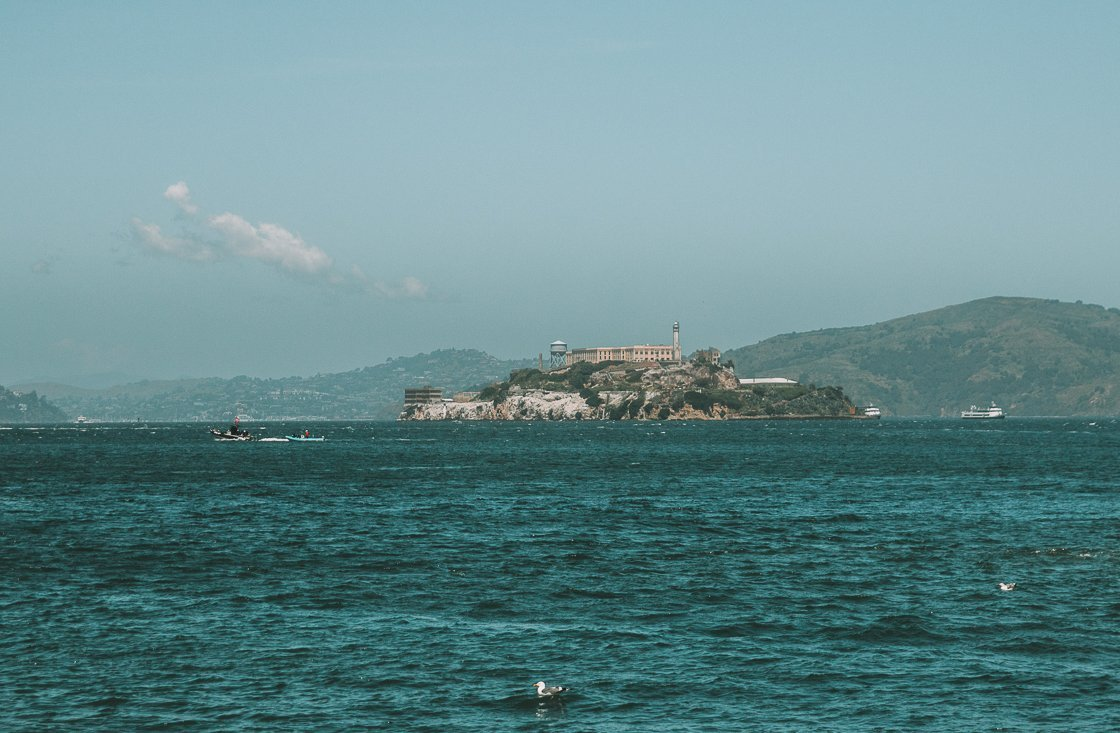 Alcatraz, San Francisco, 2-week US itinerary