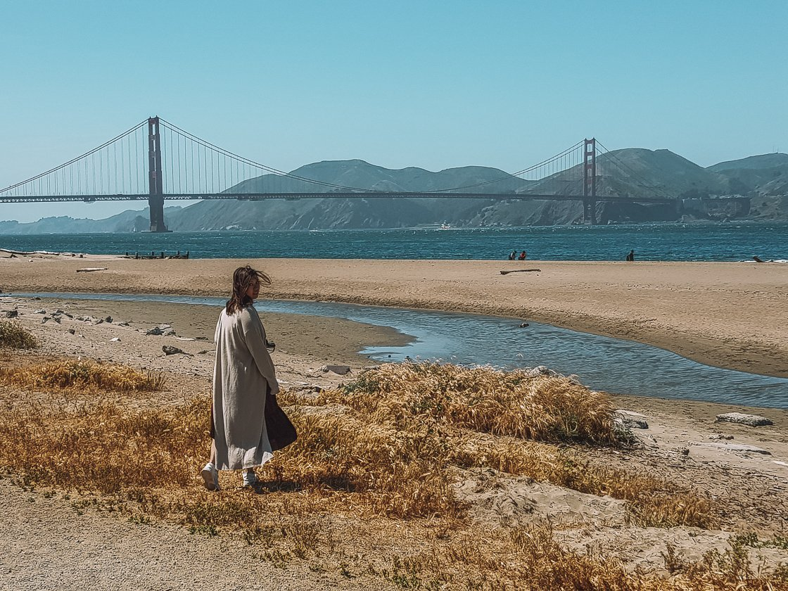 Crissy Field, San Francisco, 2-week US itinerary with no car