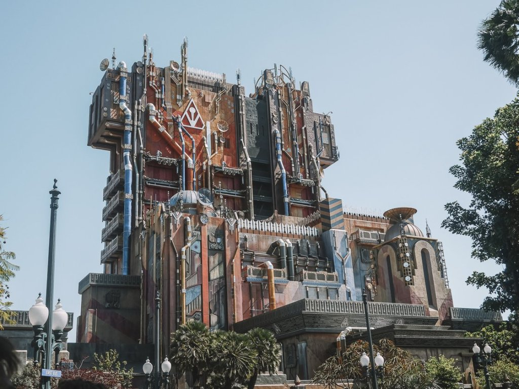 guardians of the galaxy ride review california adventure