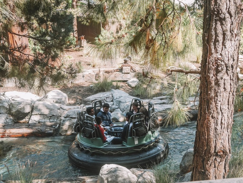 grizzly river run ride review california adventure