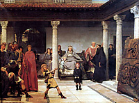 The children of Clovis in a Gallo-Roman villa