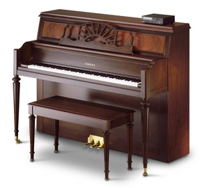 A studio piano has a larger soundboard and direct action, which makes it sound better and play more like a grand piano.