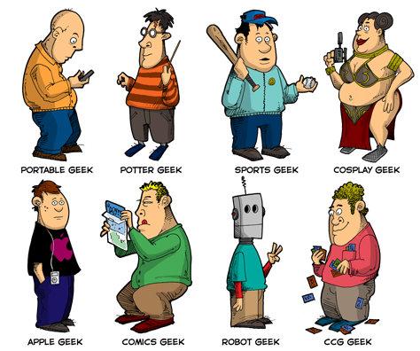 Que tipo de geek é você?