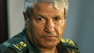 Abdul Fatah Younis, as the head of the Free Libyan Army's General Staff