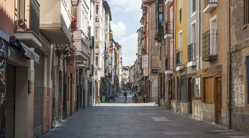 Town of Vitoria, in Basque Country, Spain.