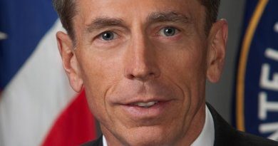 David Petraeus. Photo by Darren Livingston, CIA. Wikipedia Commons.