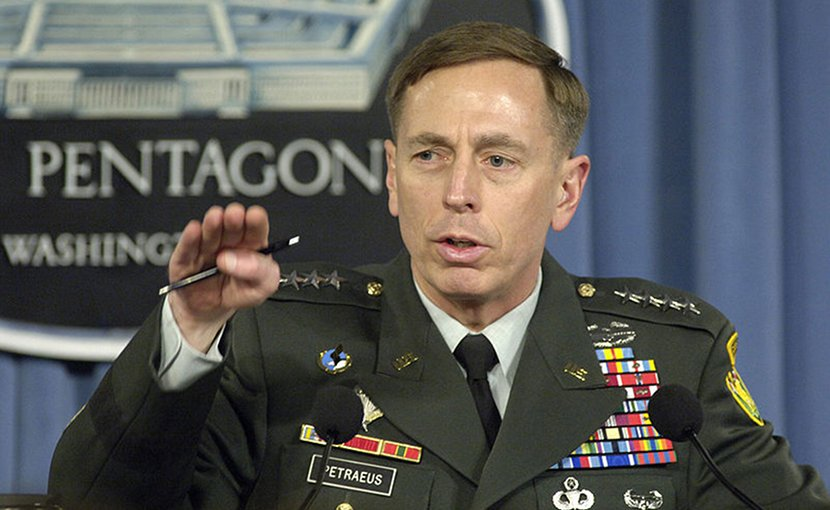 Gen. David H. Petraeus. Photo by Robert D. Ward, DOD, Wikimedia Commons.