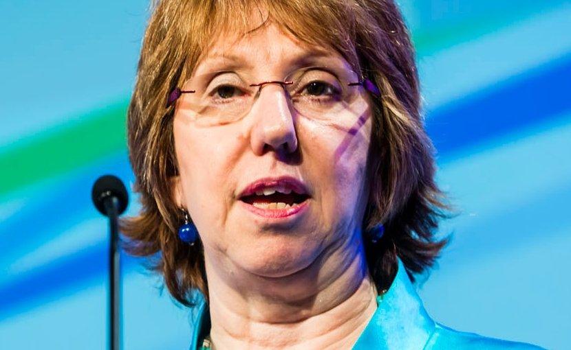 Catherine Ashton. Photo Credit: European Defence Agency, Wikipedia Commons.