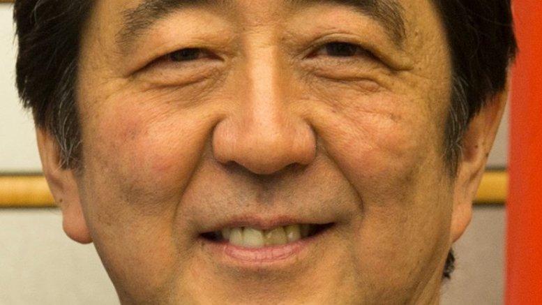 Japan's Shinzō Abe. Source: U.S. Embassy Tokyo, Wikipedia Commons.