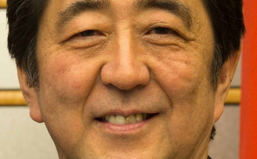 Japan's Shinzō Abe. Source: U.S. Embassy Tokyo, Wikipedia Commons.