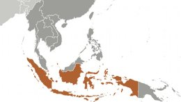 Location of Indonesia. Source: CIA World Factbook.