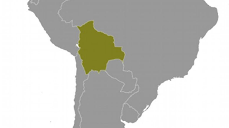 Location of Bolivia. Source: CIA World Factbook.