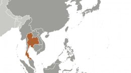 Location of Thailand. Source: CIA World Factbook.