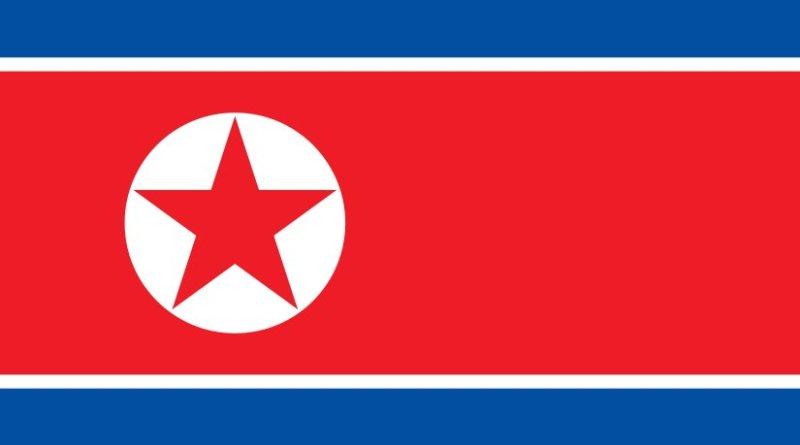 North Korea's flag. Source: Wikipedia Commons.