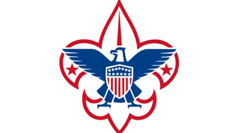 Logo for Boy Scouts of America.