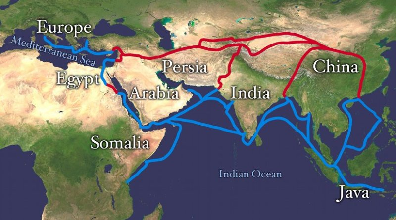 What Are Prospects For New Chinese-Led Silk Road And Asian ... China Road Map In Chinese on