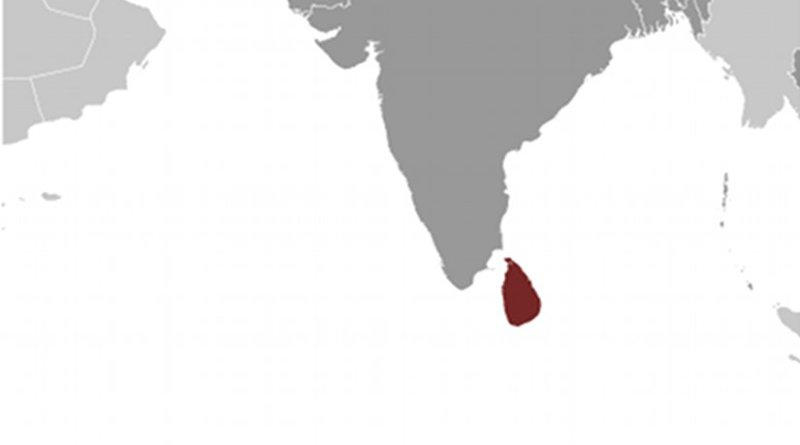 Location of Sri Lanka. Source: CIA World Factbook.