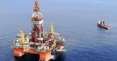 China's Hai Yang Shi You 981 offshore drilling rig.