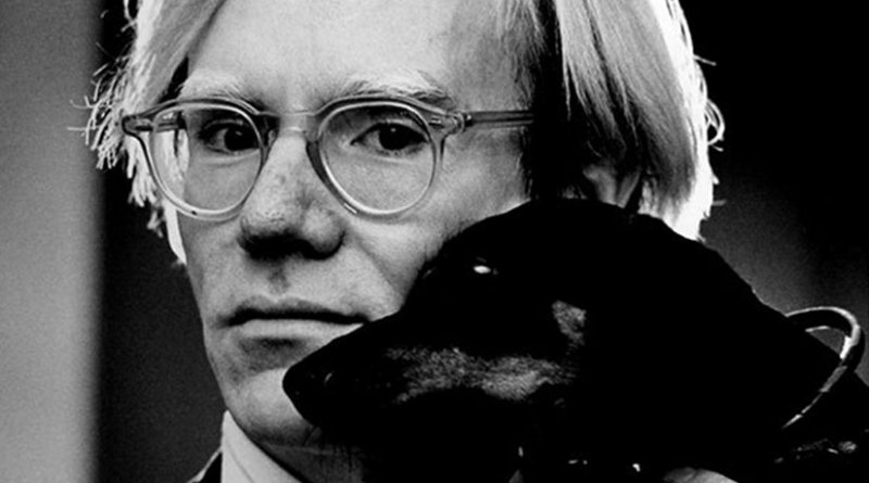 Andy Warhol by Jack Mitchell, Wikipedia Commons.